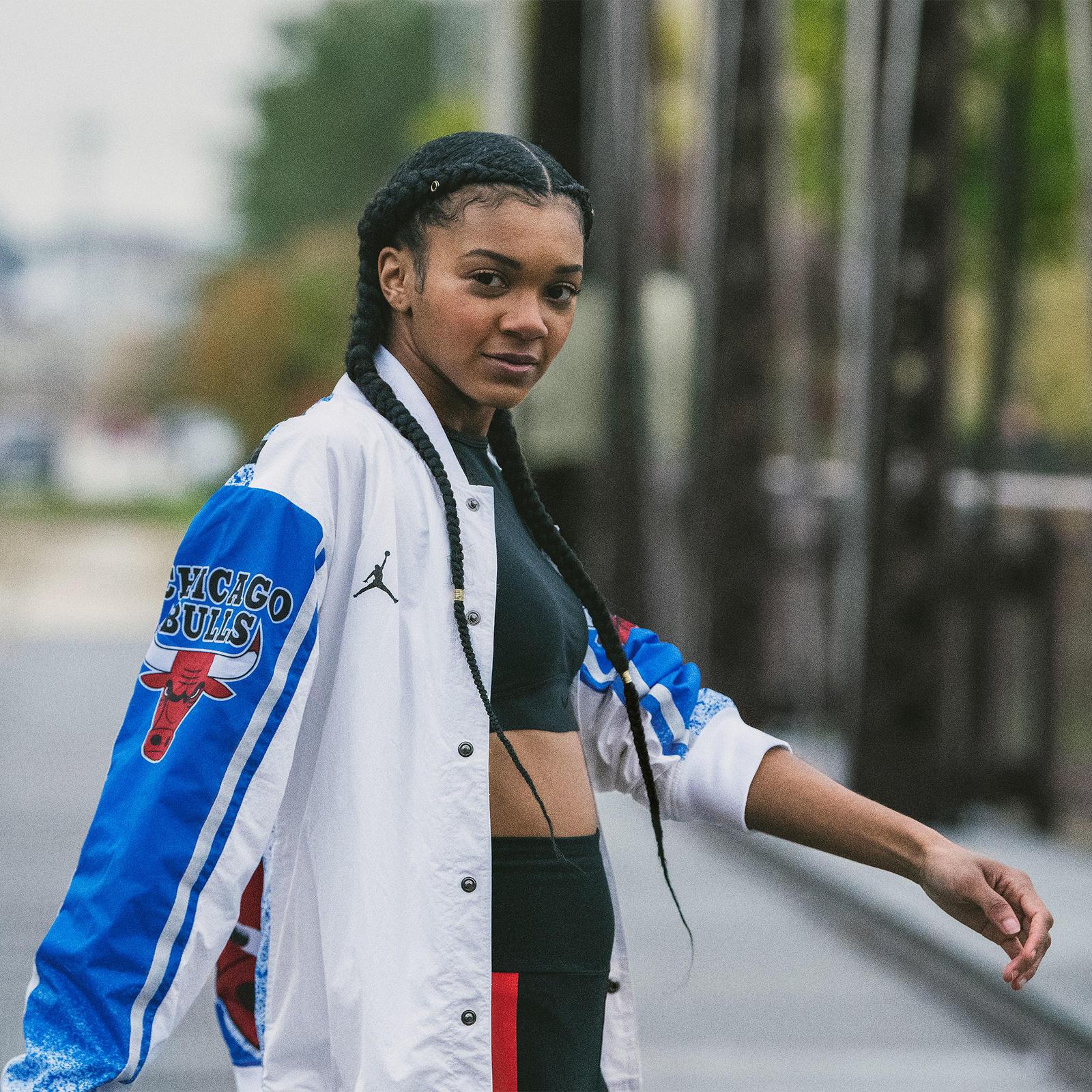 nike sportswear b jacket filled x