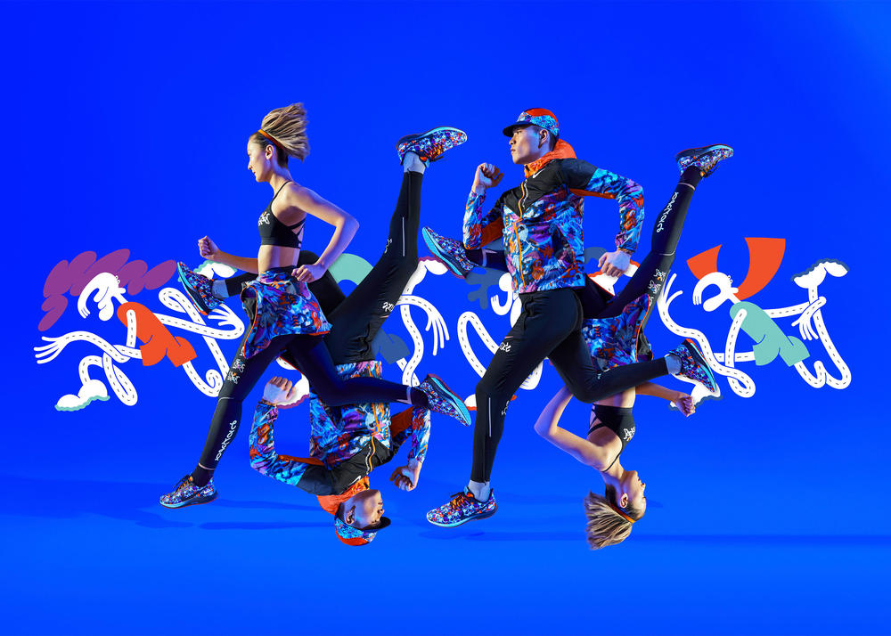 In This Tokyo Pack, Running is a Whimsical Bond That Brings People Together