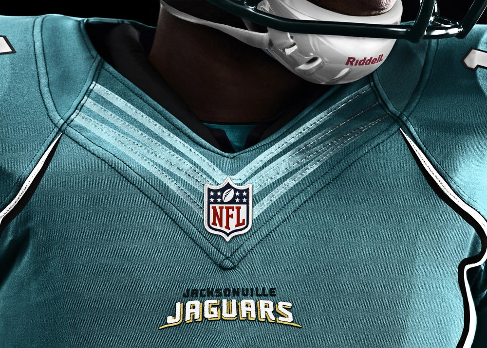 Jacksonville Jaguars 2012 Nike Football Uniform