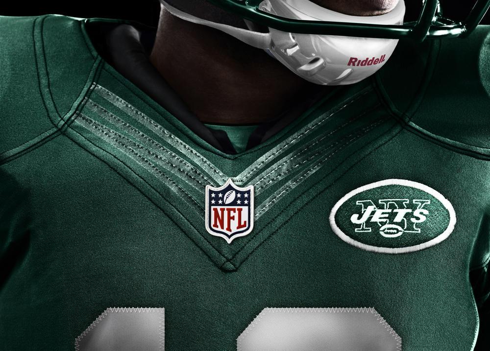New York Jets 2012 Nike Football Uniform