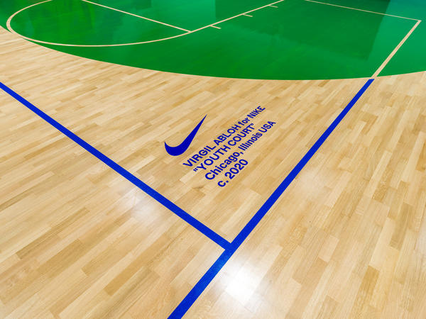 Nike Boys And Girls Clubs of Chicago and Virgil Abloh Basketball Court 6
