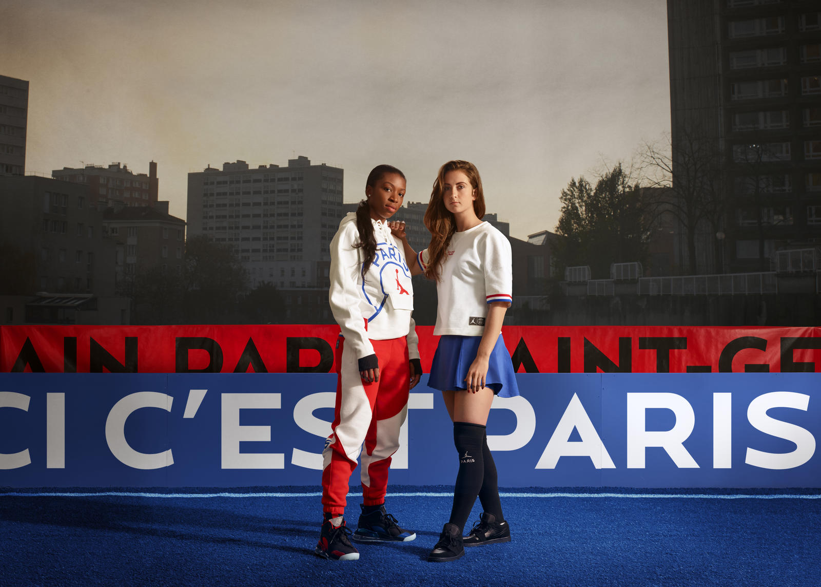 Jordan Brand and Paris Saint-Germain Women's Capsule Collection 1