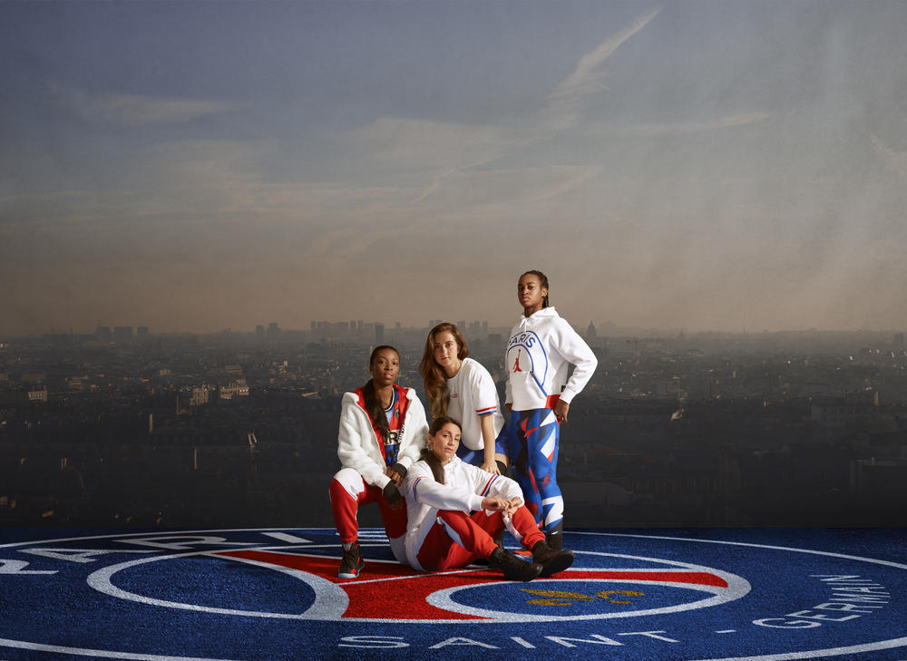 Paris Saint-Germain and Jordan Brand Launch First Women's Capsule Collection