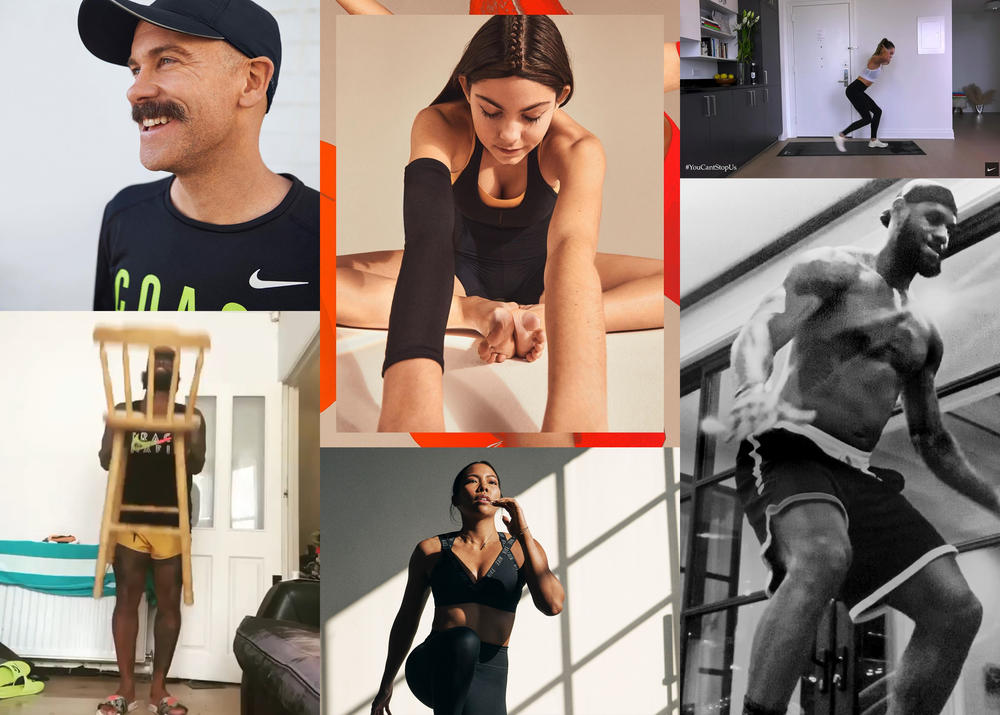 All The Ways Nike is Helping Athletes Play Inside — for the World