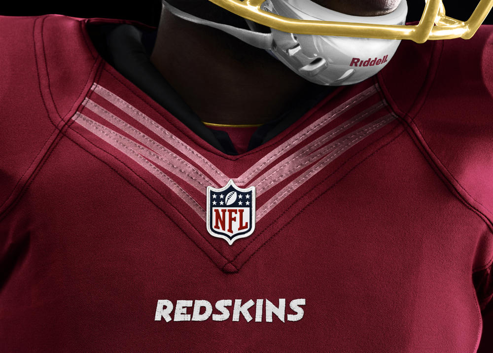 Washington Redskins 2012 Nike Football Uniform