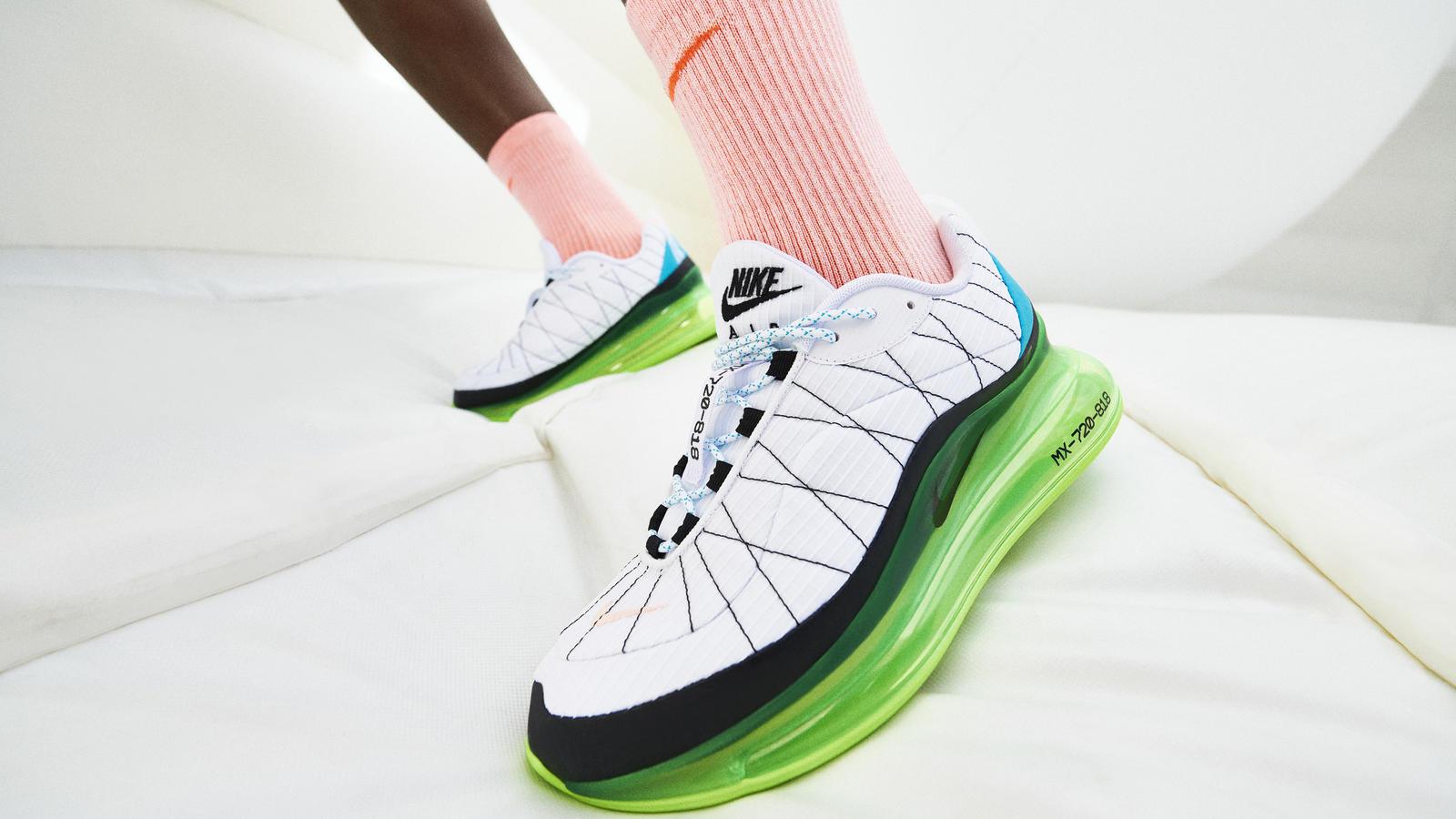 Nike Sportswear Vibrant Pack Air Max 200 Air Max 270 React Air Max Tailwind IV MX-720-818 Air Max 720 4