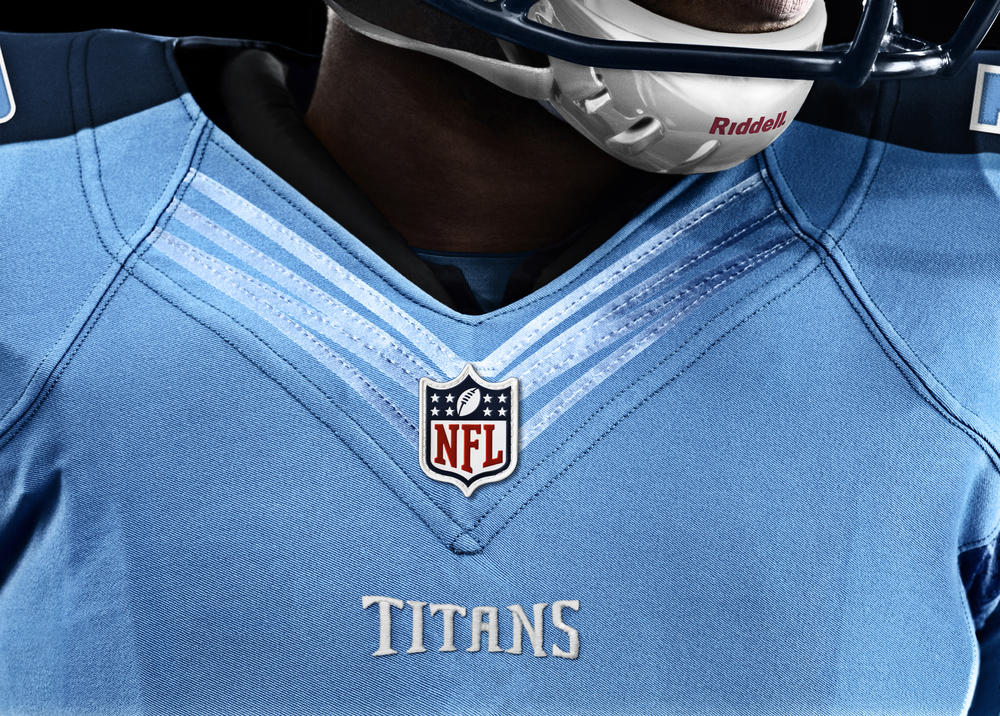 Tennessee Titans 2012 Nike Football Uniform