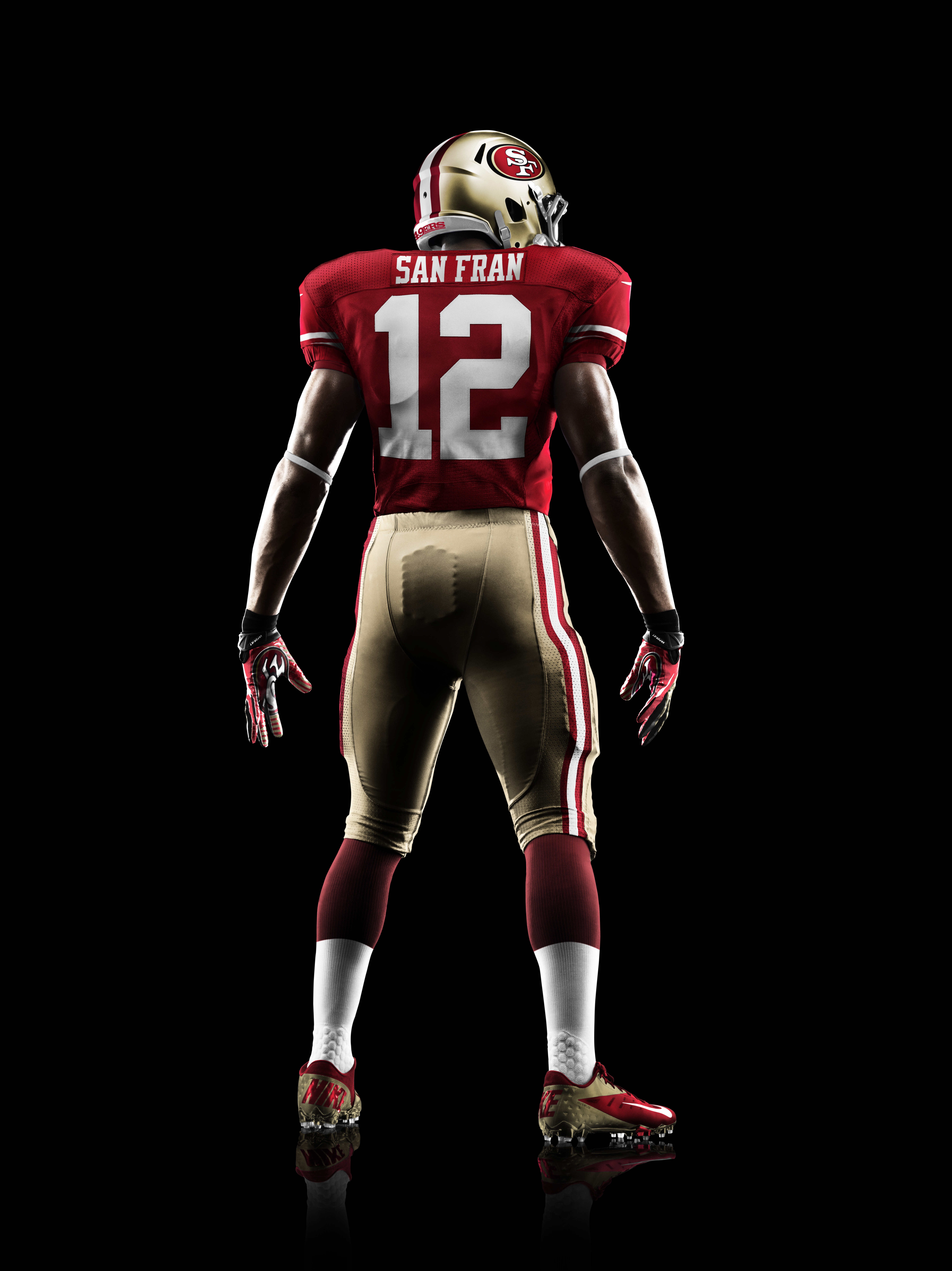 6cacf42be14 ... san francisco 3b5b0 551bc  australia nike 49ers 25 jimmie ward red team  color mens stitched nfl limited jersey 70b99 3ba9e