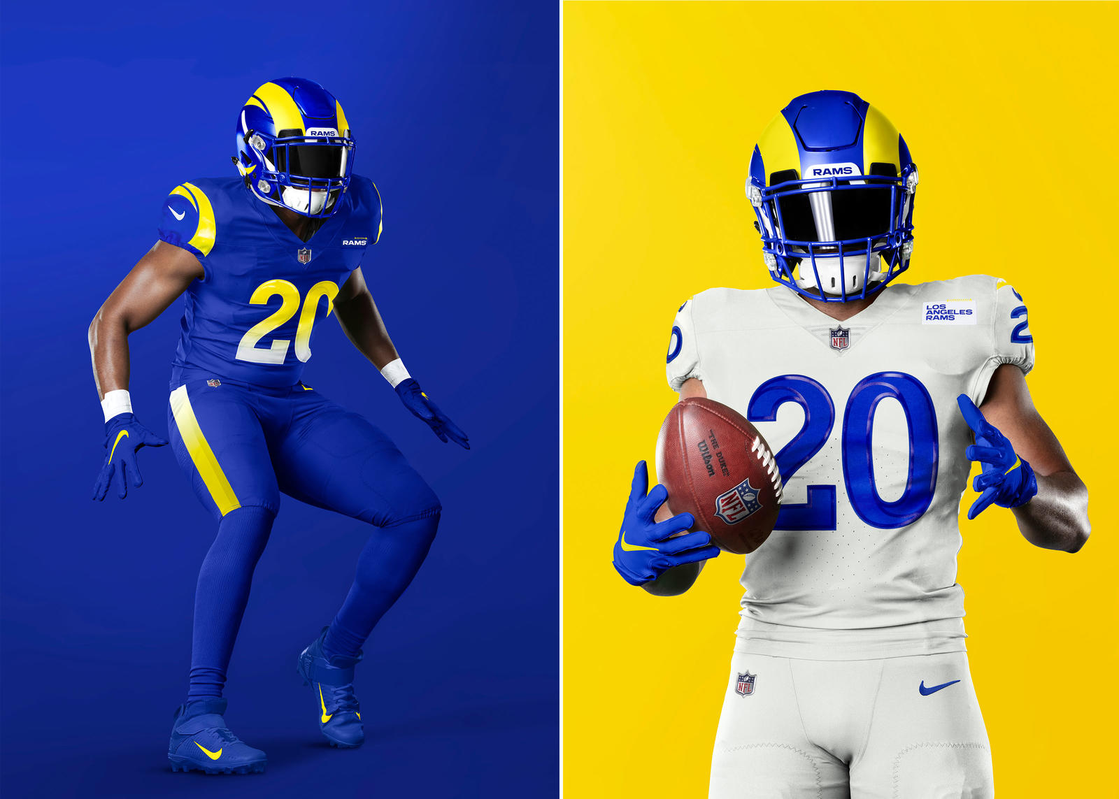 Los Angeles Rams 2020 Uniforms Official Images 0