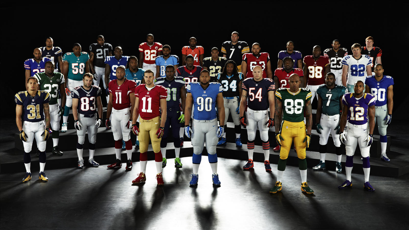 c54782dcf6a Nike_NFL_2012_TeamUniforms_03APR. Nike_NFL_UniformUnveil_CDenson_03APR2012.  Nike_NFL_UniformUnveil_Cleats_03APR2012