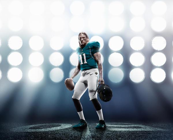 Hot Nike Jaguars #37 John Cyprien Green Men's Stitched NFL Limited  hot sale