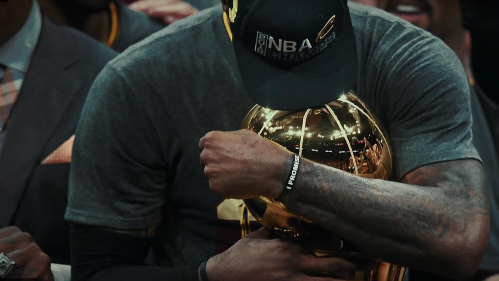 "LeBron James Narrates ""Never Too Far Down"""