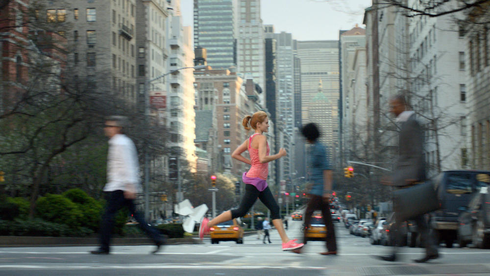 Running and singing combine in Nike Free short film