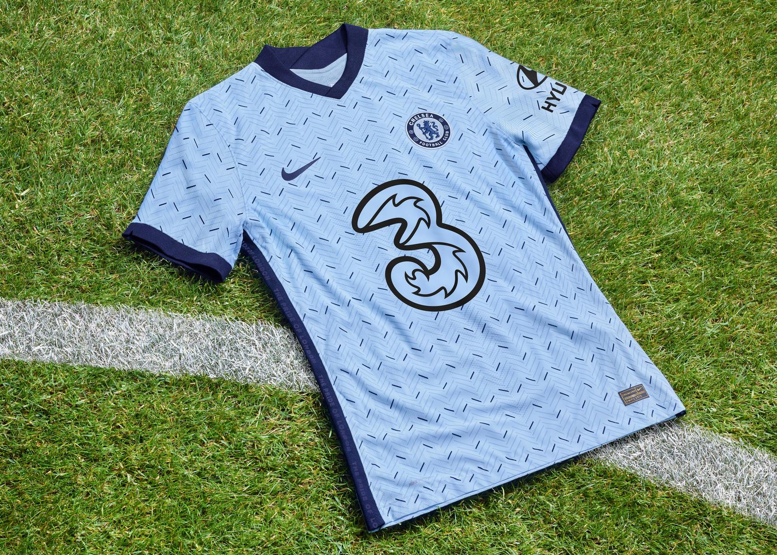 Chelsea 2020-21 away kit  2