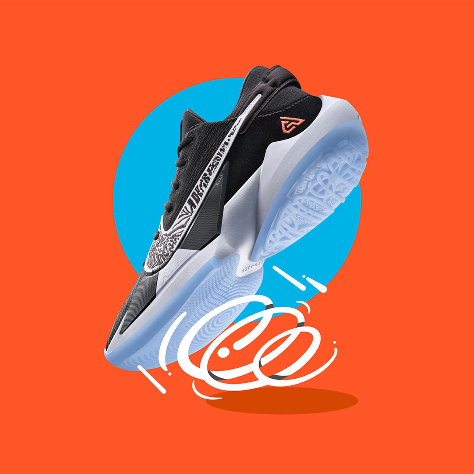 Giannis Antetokounmpo Nike Zoom Freak 2