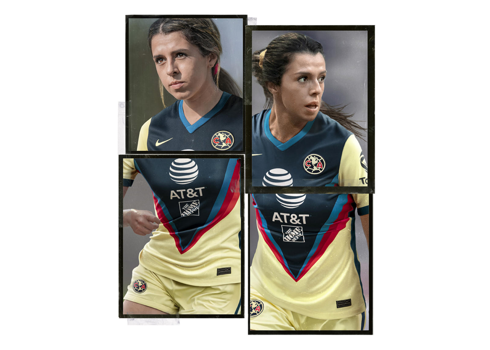 Nike 2020-21 Club América Home Kit 2