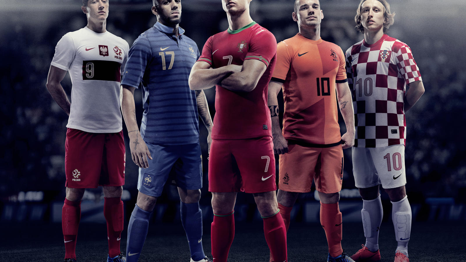 Nike Football Unveils New National Home Kits - Nike News e144b5f35