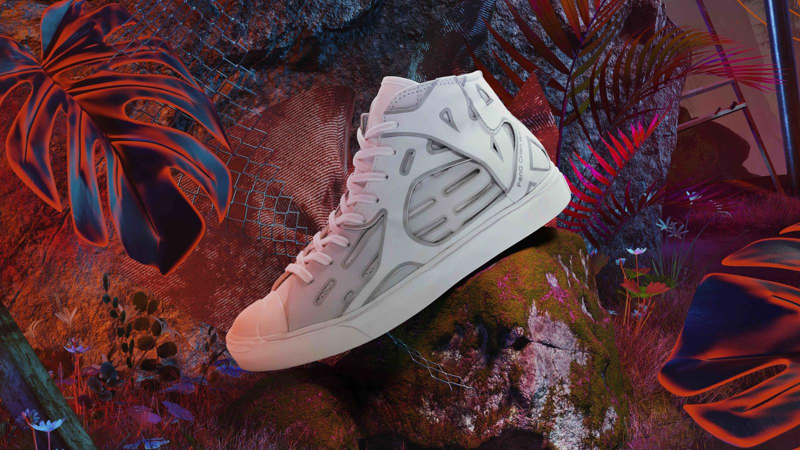 Converse Feng Chen Wang Jack Purcell and Apparel Collection  8