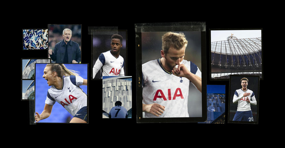 Spurs' New Kits Light Up North London