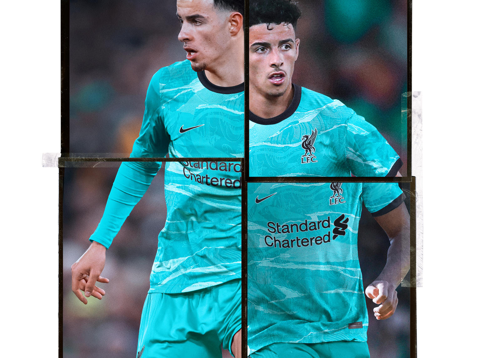 Liverpool Football Club 2020-21 Away Kit  4