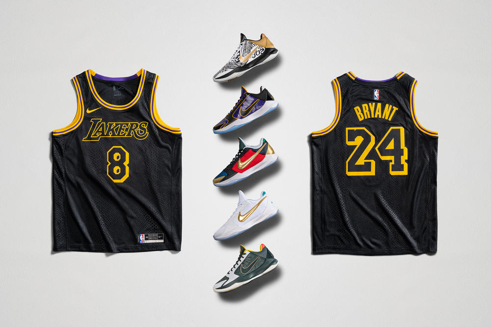 Check Out the Kobe Footwear for Mamba Week