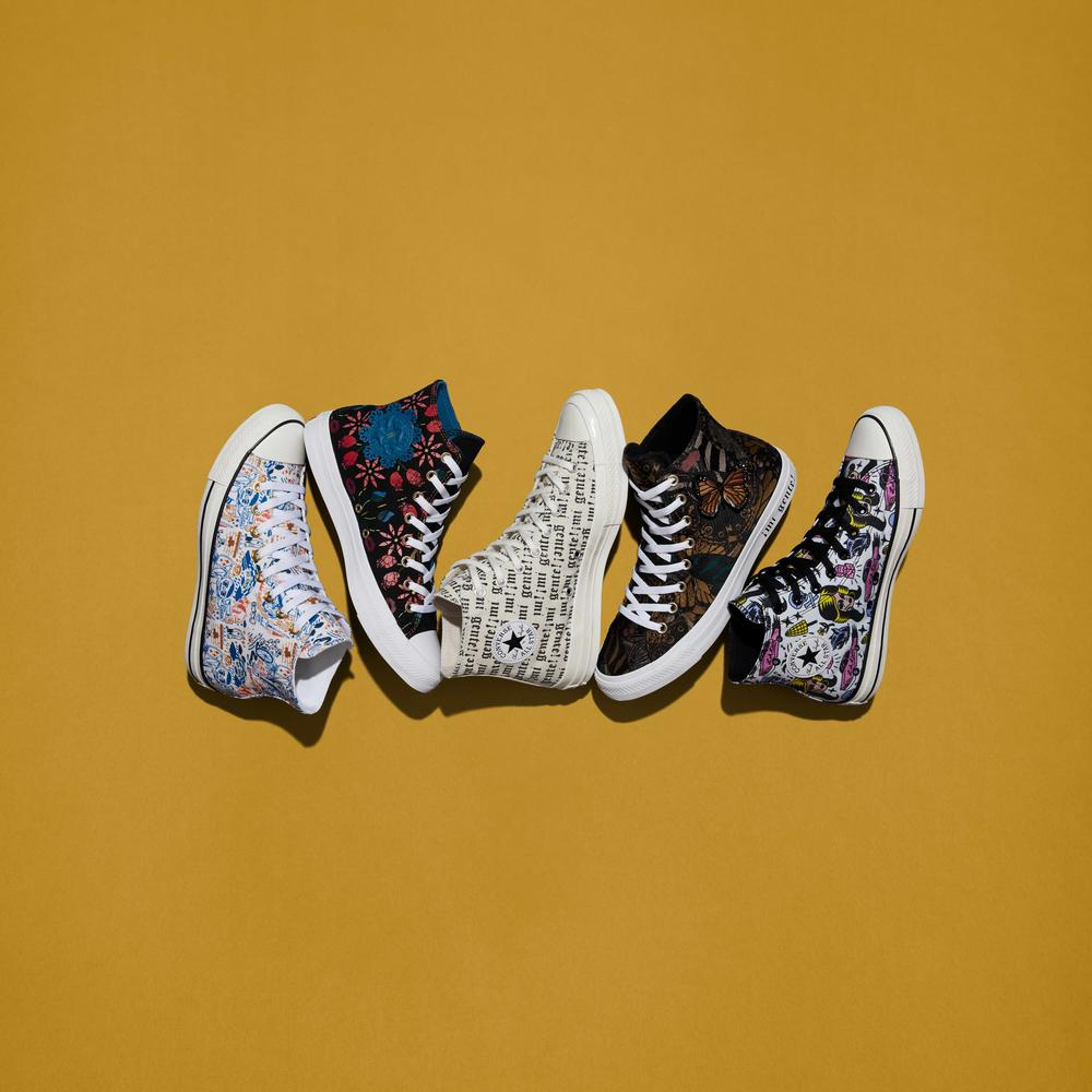 "The Converse ""Mi Gente"" Capsule Expresses the Diversity and Vibrancy of Latinx Culture"