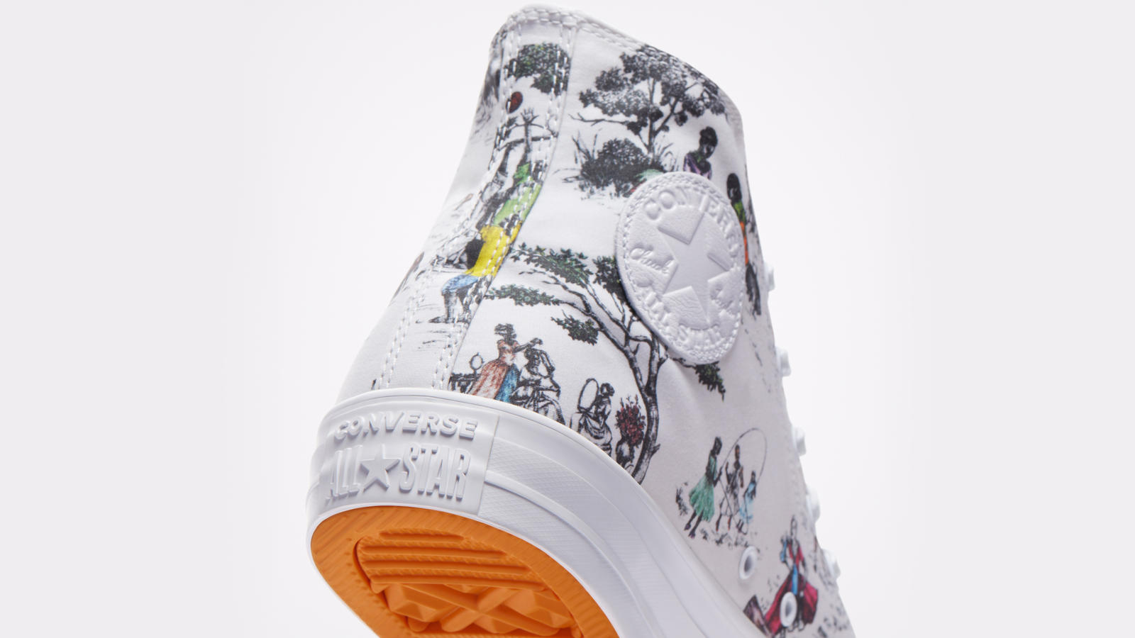 Converse x UNION x Sheila Bridges Harlem Toile Collaboration 8