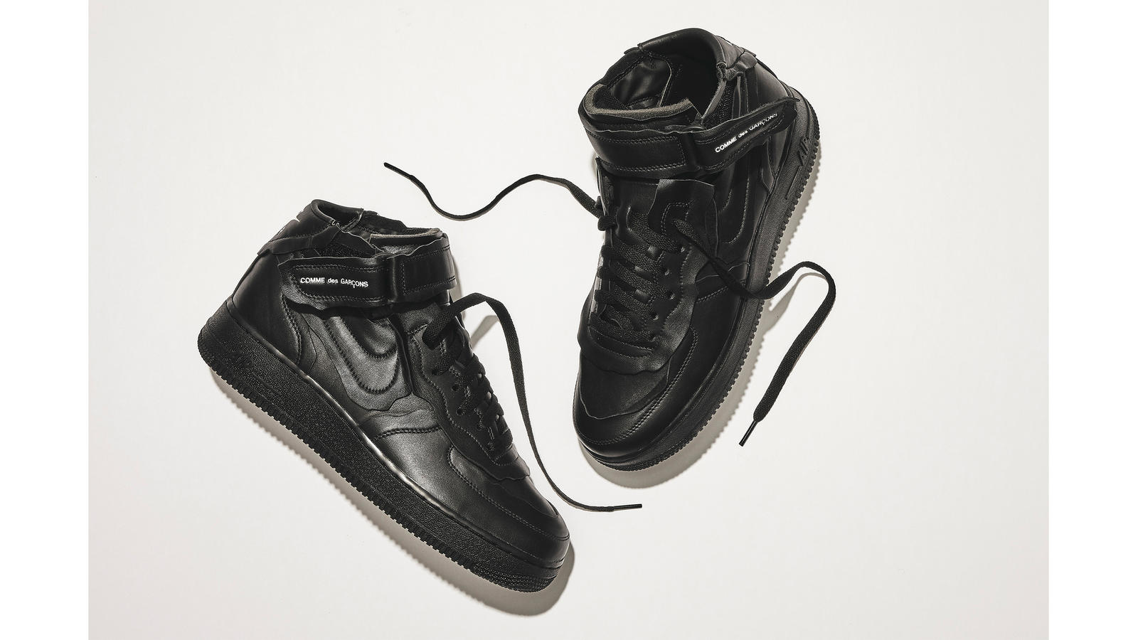 Nike COMME des GARCONS Air Force 1 Mid Official Launch Details 0