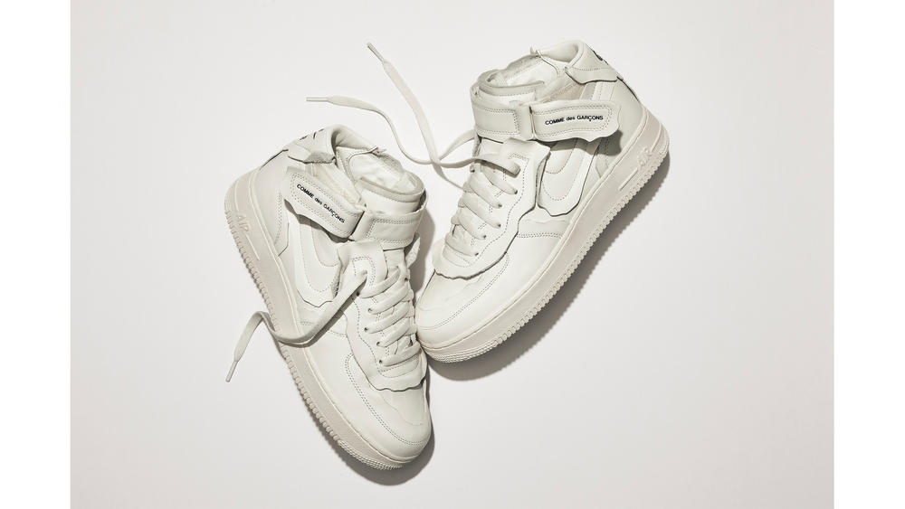 Nike COMME des GARCONS Air Force 1 Mid Official Launch Details 1