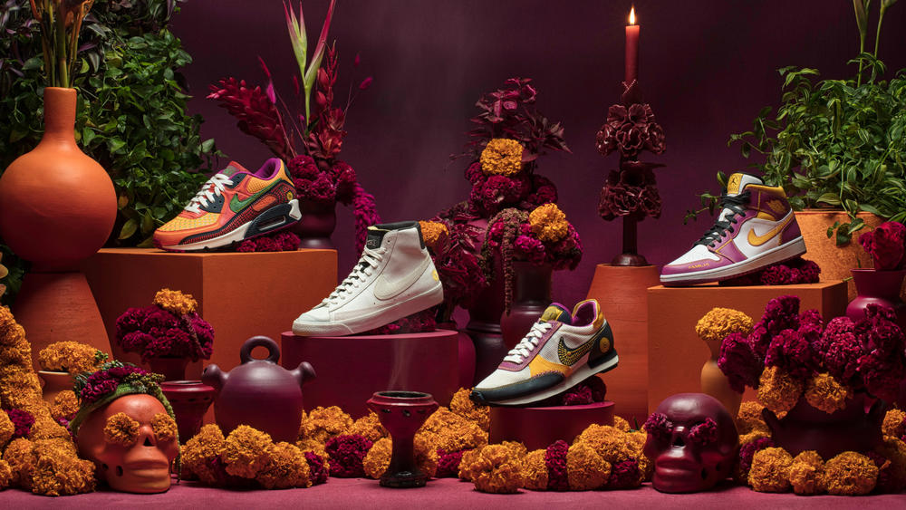 Nike's Día de Muertos Collection Pays Homage to Family