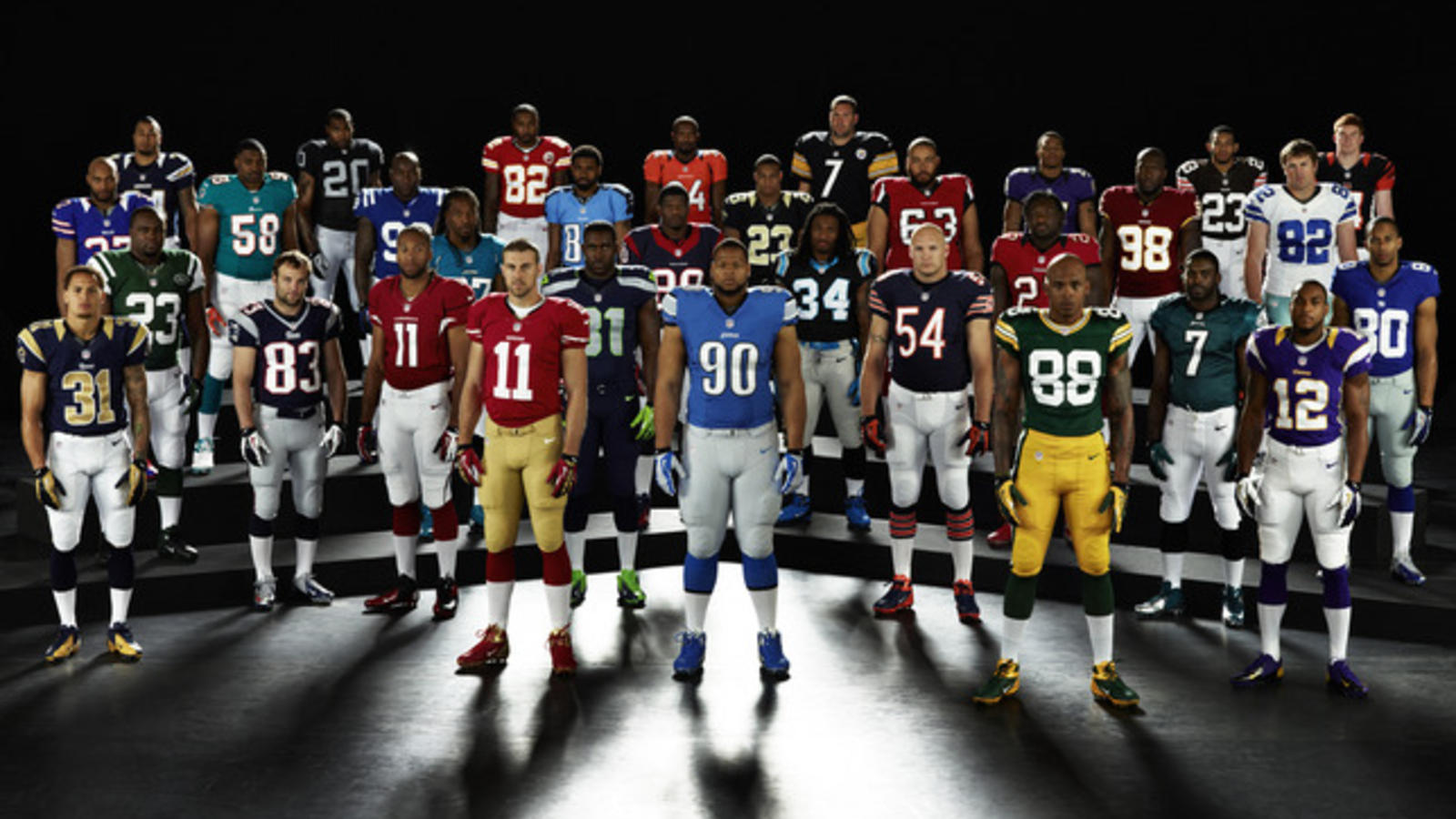 debate pérdida edificio  New Nike NFL jerseys available for pre-order April 15th - Nike News