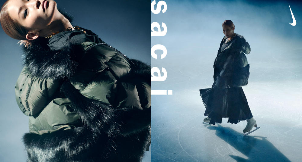 Nike and sacai Take on the Down Jacket