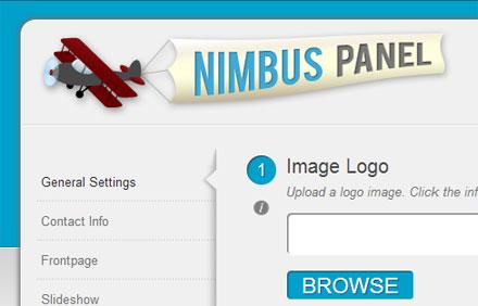 Nimbus Options Panel