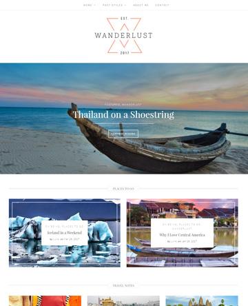Wanderlust Theme
