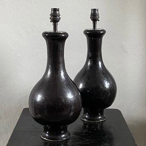 Chic Black Lamps