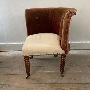 Bobbin Corner Chair