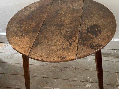 Oak Cricket Table main image