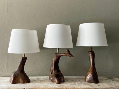 Olive Wood Lamps main image