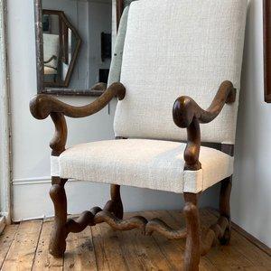 18thC Os de Mouton Chair