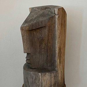Stylised Carved Head