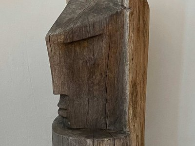 Stylised Carved Head main image