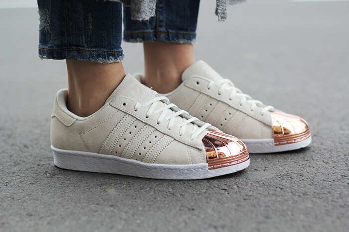 vanja, fashion and style blog, adidas superstar 80s metal toe copper sneakers, adidas srbija