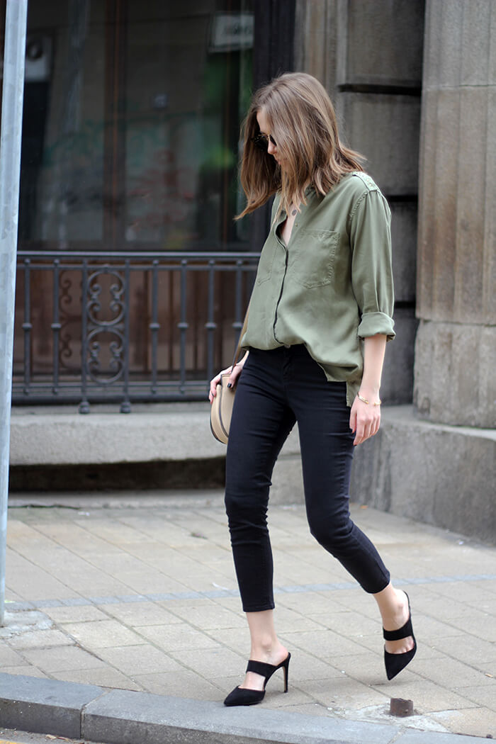 vanja, fashion and style blog, mango shoes, zara shirt, celine sunglasses