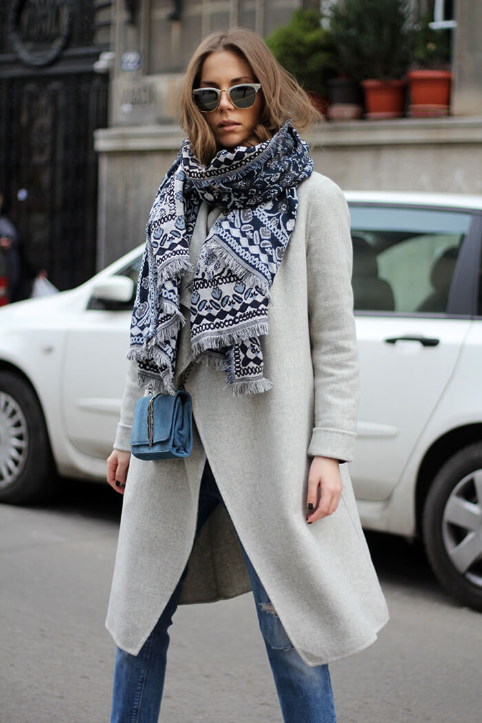 vanja, fashion and style blog, ray ban sunglasses, zara coat, zara bag, zara jeans, adidas superstar metal toe sneakers