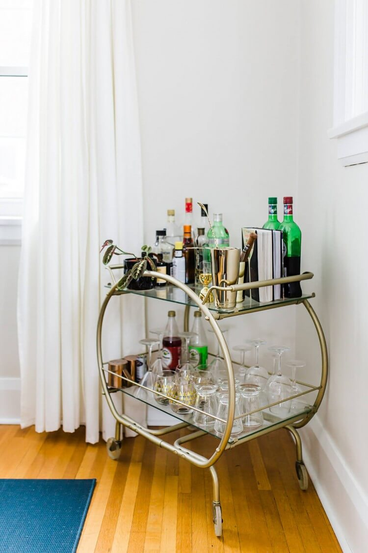 carrinho-para-bebidas-inspiracao-drinks-bar-car-decoration
