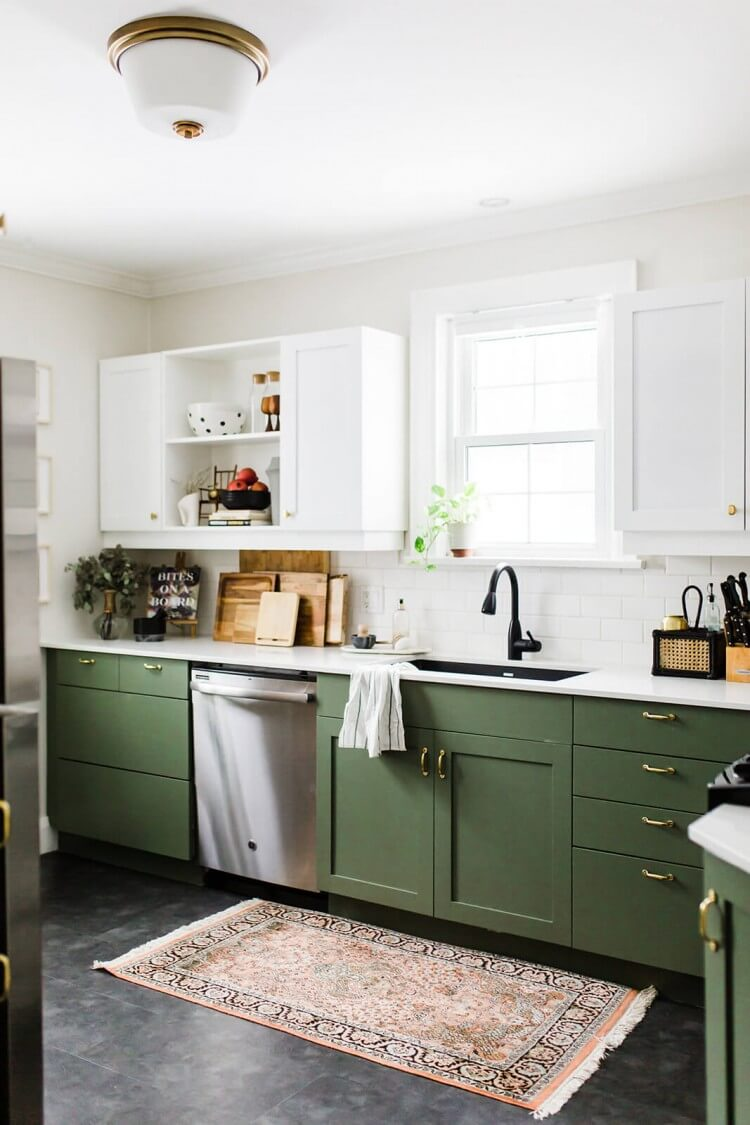 cozinha-armarios-verde-vintage-decoracao-inspiracao