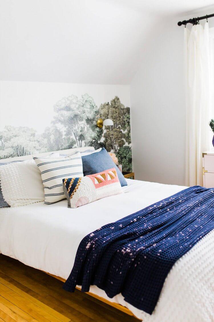 jogo-de-lencol-azul-e-branco-printerest-roupa-de-caa-chique