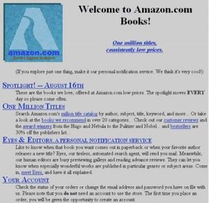 Amazon.com in 1996