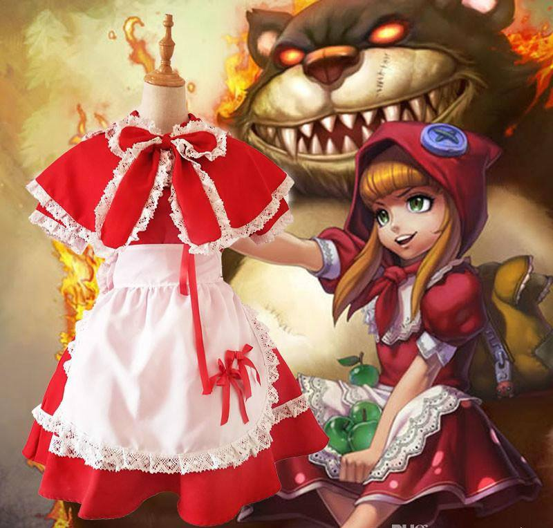 COSPLAY ANNIE LEAGUE OF LEGENDS VERSÃO NATALINA