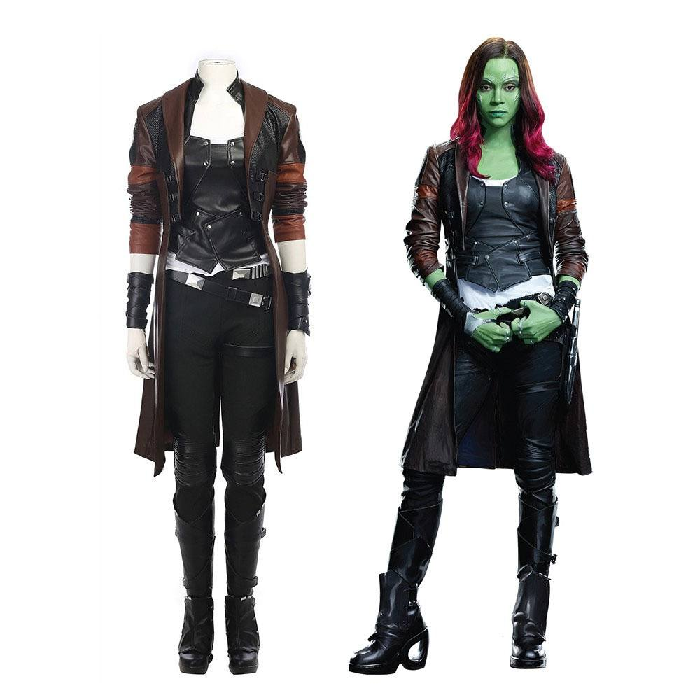 COSPLAY GAMORA GUARDIÕES DA GALAXIA